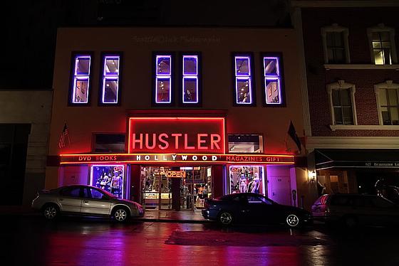 Hustler Gaslamp San Diego