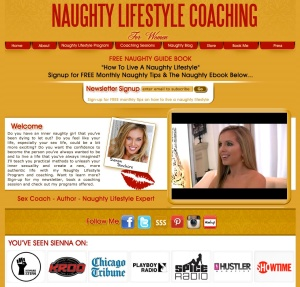 Sienna Sinclaire Naughty Lifestyle Coaching