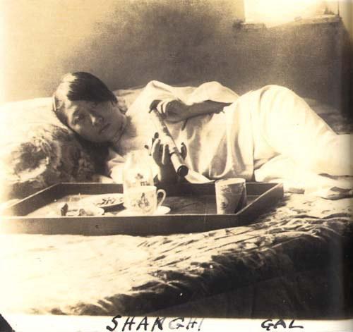 Shanghai Opium and Prostitute