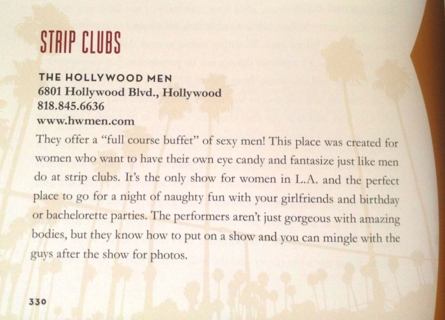 Hollywood Men Review in Naughty Girl's Guide to Los Angeles