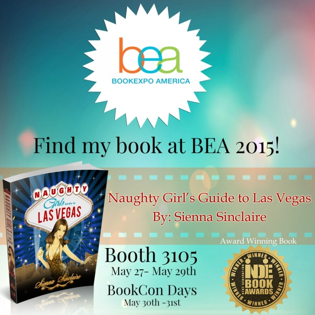Naughty Girl's Guide to Las Vegas featured at Book Expo America in New York City