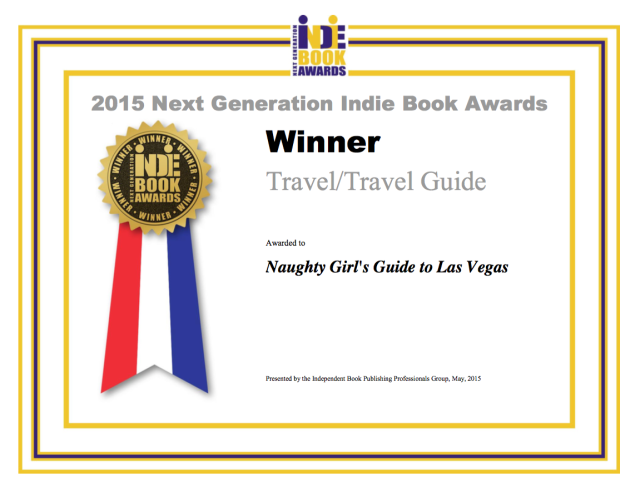 "Best Travel Guide 2015 ""Naughty Girl's Guide to Las Vegas"""